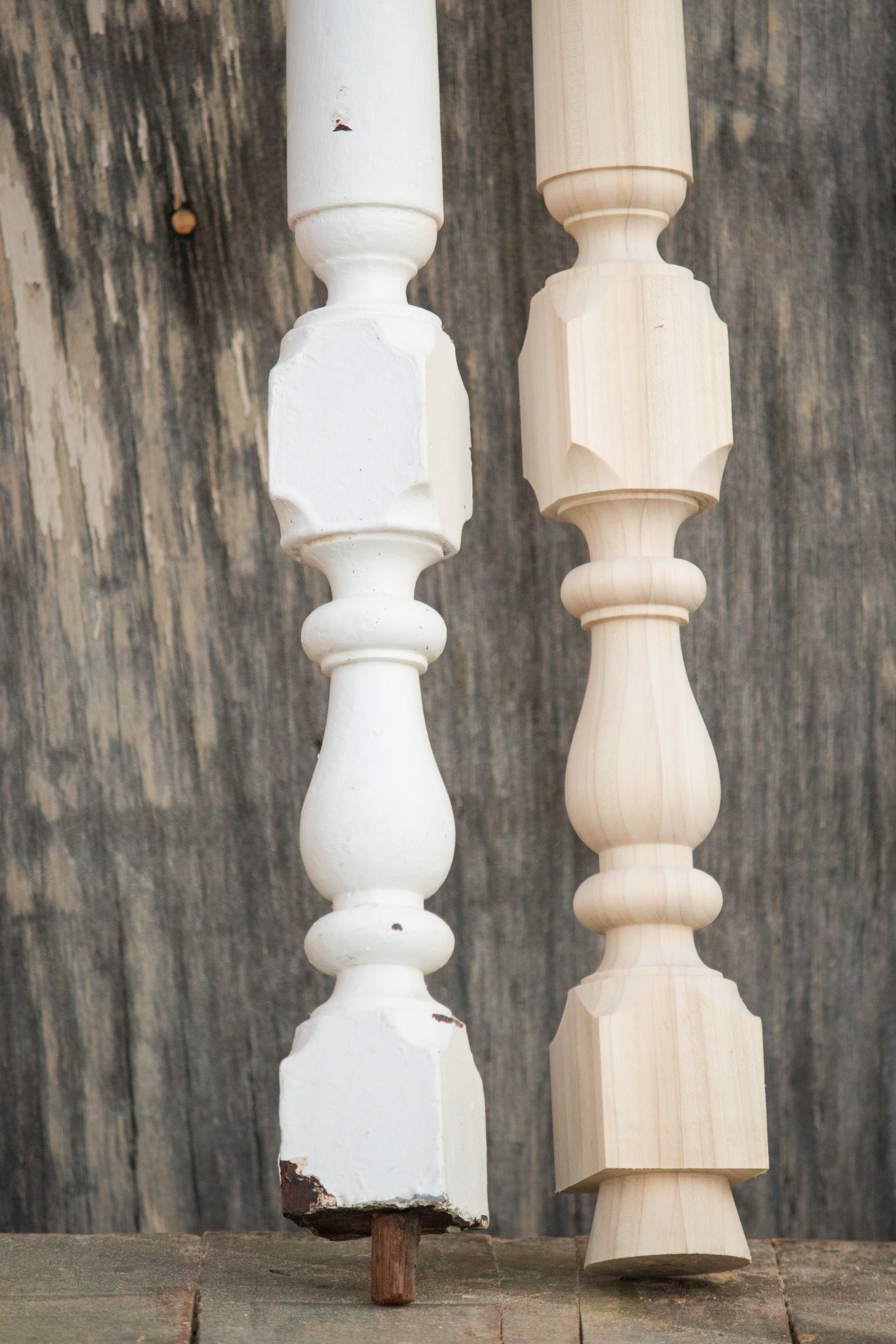 custom wood turning