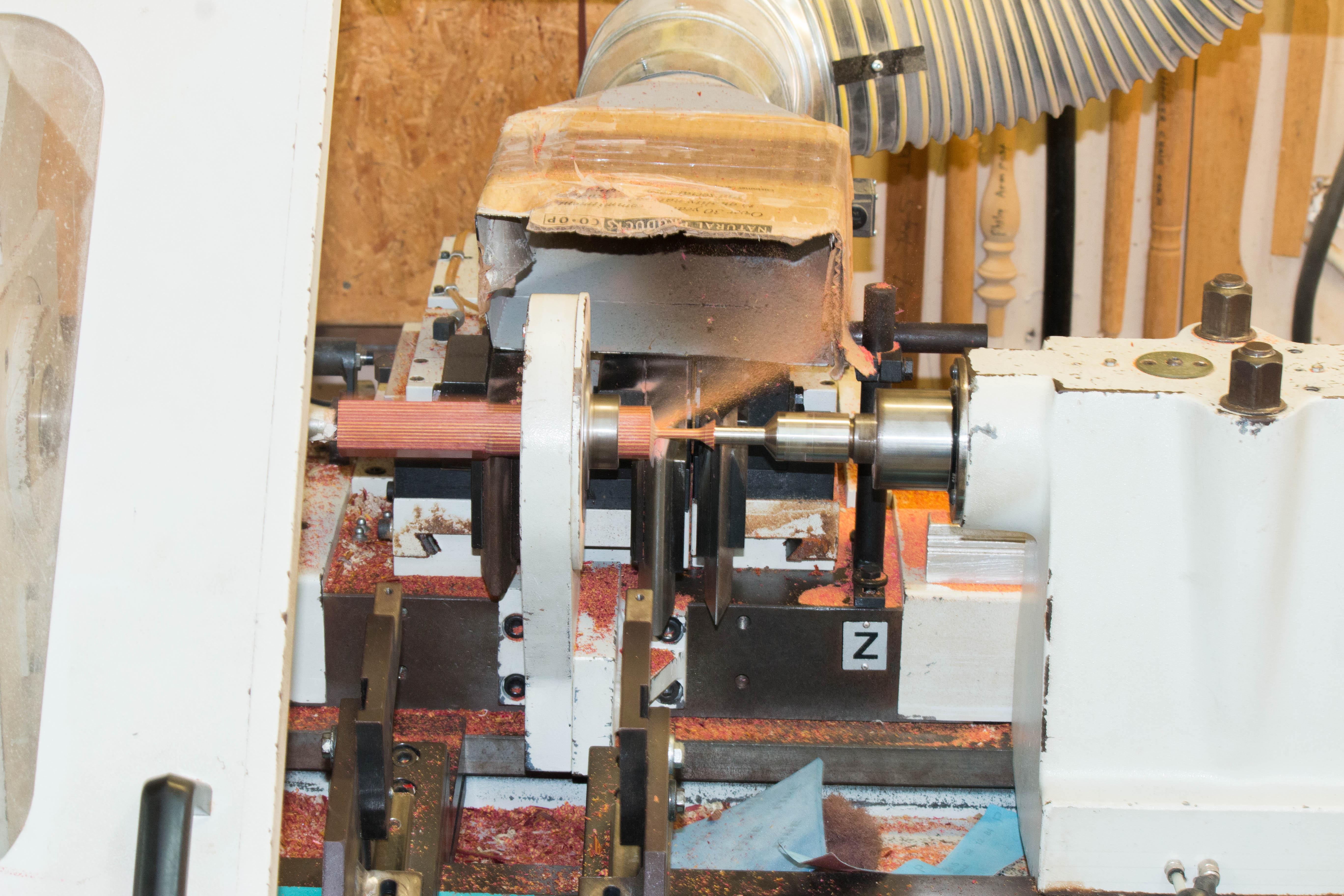 custom woodturnin